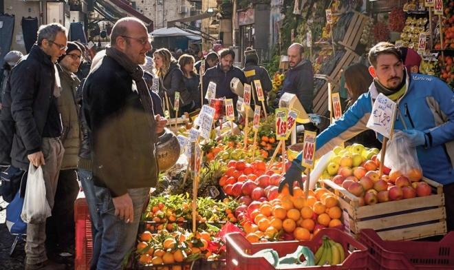 Markt in Neapel